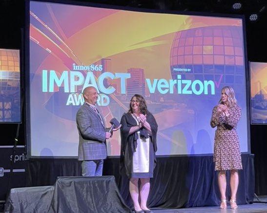 Bill Malkes receives Innov865 Impact Award